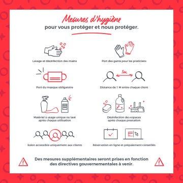 Règles de sécurités et d'hygiènes de l'institut