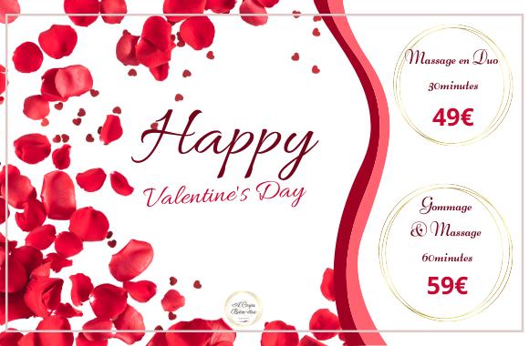 Offres Spéciales Février et Saint Valentin
